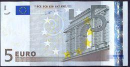 Euronotes 5 Euro 2002 XF < X >< P009 > Germany Duisenberg Rare - EURO