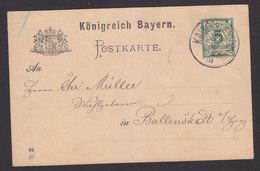 Germany, Postcard, Used, Sent 1894 - Germany