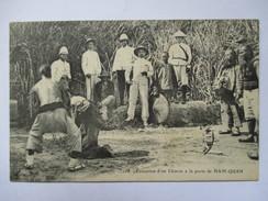 VIET-NAM  -   NAM-QUAN  -  EXECUTION  D'UN  CHINOIS  ....       TRES  ANIME       TTB - Vietnam