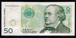 "50 Kroner "" NORVEGE""  2011     XF/UNC Ble 4 - Norvège"