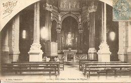 01 - Ars-sur-Formans - Intérieur De L'Eglise - Ars-sur-Formans