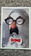 CPM TABLEAU MONA LISA DETOURNE PARIS C EST FOU IMAGE IN  HELLO - Paintings