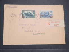 FRANCE - Env Recommandée De Lille Pour Wassy Avec Timbres De La Série Des Surcharges Rouges - 1941 - P22150 - 1921-1960: Période Moderne