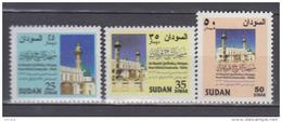 SOUDAN        1997        N .    467 / 469        COTE      11 . 00      EUROS       ( V 510 ) - Soudan (1954-...)