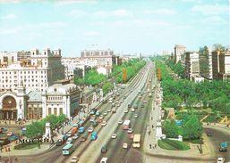 26344. Postal MOSCU (Rusia)  Circulacion En Avenida - Rusia