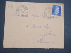 FRANCE - Env Avec Censure D'un Soldat Français Prisonnier En Allemagne Pour La France - Nov 1943 - P22153 - Marcophilie (Lettres)
