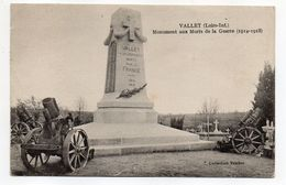 VALLET--1929--  Monument Aux Morts De La Guerre 1914--1918--  ---  .... à Saisir - France