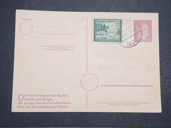 ALLEMAGNE - Carte Avec Entier Et Complément D'affranchissement Commémoratif Du Combat Du Füher - Avril 1945 - P22156 - Allemagne