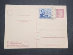 ALLEMAGNE - Carte Avec Entier Et Complément D'affranchissement Commémoratif Du Combat Du Füher - Avril 1945 - P22157 - Allemagne