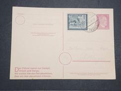 ALLEMAGNE - Carte Avec Entier Et Complément D'affranchissement Commémoratif Du Combat Du Füher - Avril 1945 - P22158 - Allemagne