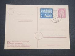 ALLEMAGNE - Carte Avec Entier Et Complément D'affranchissement Commémoratif Du Combat Du Füher - Avril 1945 - P22159 - Allemagne