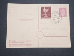 ALLEMAGNE - Carte Avec Entier Et Complément D'affranchissement Commémoratif Du Combat Du Füher - Avril 1945 - P22160 - Allemagne