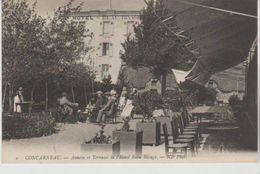 Finistere CONCARNEAU Annexe Et Terrasse De L'hôtel Beau Rivage (animation) - Concarneau