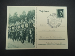 DR, 9.9.1937, Postkarte - Weltkrieg 1939-45