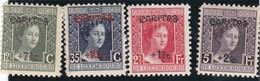 Luxembourg N° 146 à 149 ** Duchesse Marie-Adelaïde - Vari