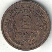 France 2 Francs 1935 - I. 2 Francs