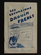 LES EXCURSIONS DROUIN FRERES LA BAULE SAISON 1948 - France