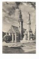 BOLZANO PIAZZA VITT. EMANUELE III  COL MONUM. A WALTER E CHIESA PARROCHIALE -NV FP - Bolzano (Bozen)
