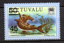 Sello  Nº 147a  Tuvalu - Fische