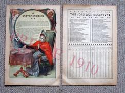 Presse 1910 Cartomancienne Jeu De Cartes Bec Radium Pour Lampe Pétrole Henri Suhr Accordéon Lits Léon Huyge  216CH3 - Vecchi Documenti