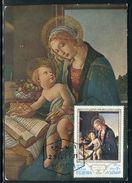 Fujeira - Carte Maximum 1971 - Oeuvre De Botticelli - Fujeira