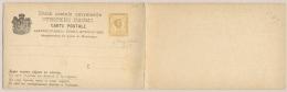 Montenegro - 1892 - 2+2 Nkr Carte Postale, 2x Demand-card In Horizontal Pair - Montenegro