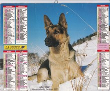 Calendrier  OBERTHUR  L'almanach Du Facteur 1993 - Big : 1991-00