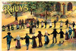 Thematiques  56 Morbihan Grande Fine De Rhuys Folklore Danse Bretonne - Frankreich