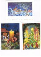 ITALIA    -  BUON  NATALE E BUON ANNO   (MERRY CHRISTMAS AND HAPPY NEW YEAR),     LOT OF 3 - MINT - Anno Nuovo