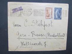 BRIEF Sophia - Gera 1923 ////  D*28307 - 1909-45 Royaume
