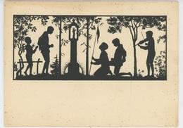 """SCOUTISME - Jolie Carte Fantaisie """" Croisade De La Jeunesse Pour La Paix """" 16-31 AOUT 1929 - Scoutisme"""