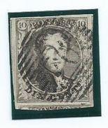 OCB 6 : Mooie Zegel Met 4 Brede Randen En 3 Geburen - 1851-1857 Medaillons (6/8)