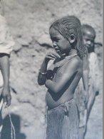 AFR217 Old Print - Children In OMDURMAN -  Sudan (backside:Sudanese Dancing Girl In Omdurman) 1931 - Estampes & Gravures
