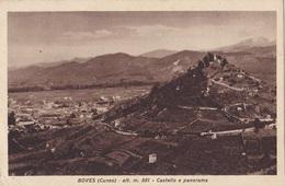 BOVES - CASTELLO E PANORAMA VG  AUTENTICA 100% - Cuneo