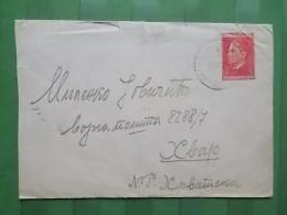 1924 - LETTER SERBIA, TITOVO UZICE - HVAR - Covers & Documents