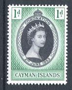 Cayman Islands 1953 QEII Coronation HM (SG 162) - Cayman Islands
