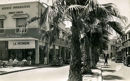 AGADIR - La Rue Nicolas Paquet Et La Potinière. - Agadir