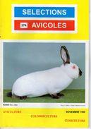 SELECTIONS AVICOLES AVICULTURE COLOMBICULTURE CUNICULTURE NOVEMBRE 1998  No 374 - Animals