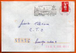 44 PIRIAC S / MER   SES CRIQUES   1995   Lettre Entière N° GG 714 - Mechanical Postmarks (Advertisement)