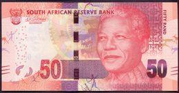 South Africa 50 Rand 2016 UNC P-140 (2) Signature: Kganyago - Suráfrica