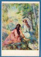 RENOIR - Deux Jeunes Filles Dans Un Pré. Vers 1895 - Girls In A Meadow - Metropolitan Museum, New York - Malerei & Gemälde
