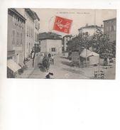 CPA - 42 - Belmont - Place Du Marché - Editeur  A VOIR - Belmont De La Loire