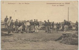 Francia_1918_Tarjeta A Sevilla. Censura Francesa. - Briefe U. Dokumente