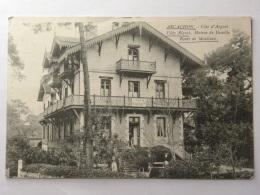 CPA (33) Gironde  - ARCACHON - Villa Riquet, Maison De Famille Route De Moulleau - Arcachon