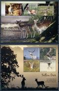 2017 Antigua & Barbuda, Fallow Deer, S/sheet+sheet, MNH - Sonstige
