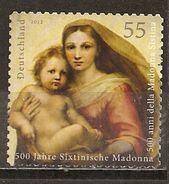 Allemagne Germany 2012 Madonna Obl - Used Stamps