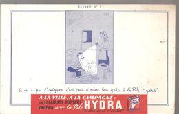 Buvard HYDRA Buvard N°5 Si On A Pu L'soigner, C'est Tout D'même Bien à Pile HYDRA - Accumulators