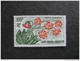 Saint Pierre Et Miquelon: TB PA N°27, Neuf XX. Cote = 14 Euros. - Poste Aérienne