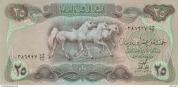 IRAQ 25 DINAR 1978 P-66a LARGE HORSES Au-UNC */* - Iraq