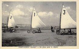80)    FORT  MAHON  - En Place Pour Le Départ  (  Aéroplage  ) - Fort Mahon